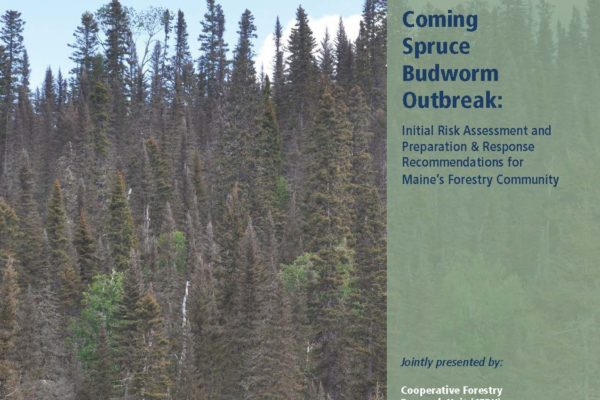 Cover of the Maine Spruce Budworm Task Force Final Report