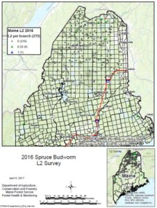 Map of 2016 L2 survey