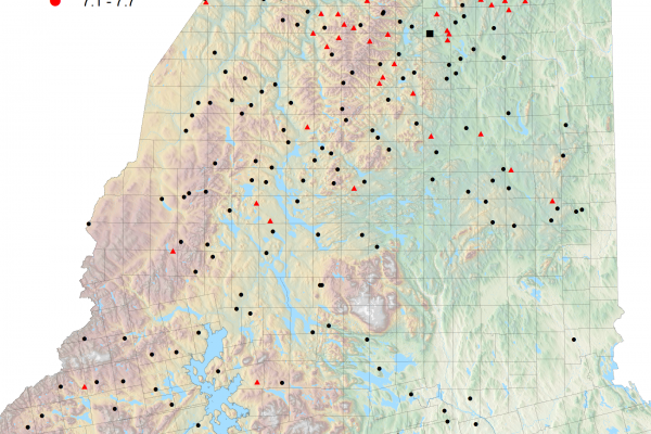 L2 map report from Week 5 of fall 2021 branch collections
